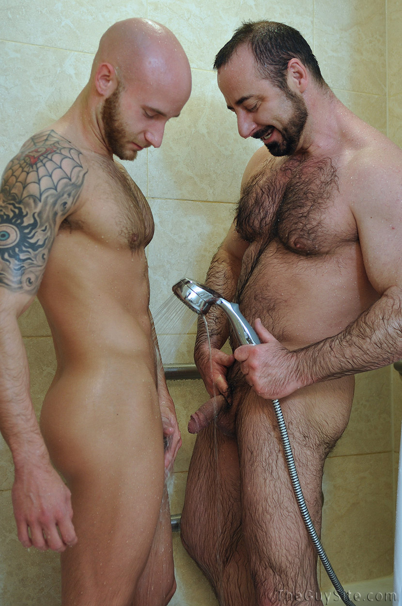 hairy naked gay men